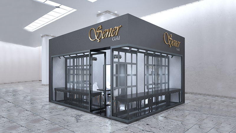 Şener Gold Stand Tasarımı